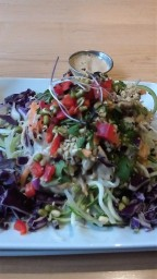 A nice superfood salad on a freezing day...