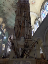 "The ""miracle display"" of the cathedral of St Anne de Beaupre"