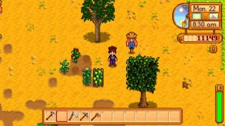scarecrowing it up on the farm